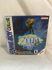 The Legend Of Zelda Oracle Of Ages Game Boy Color Complete Rare Mint