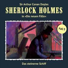Sherlock Holmes die neuen Fälle Fall 5 Das Steinerne Schiff CD Hörspiel Romantru