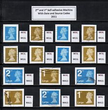 2011 Security Machin Collection with Source/Date Codes M11L/MA11 - FULL SET