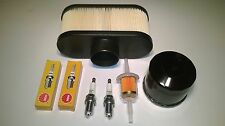 ENGINE SERVICE KIT KAWASAKI FR & FS SERIES- AIR, FUEL & OIL FILTERS AND PLUGS