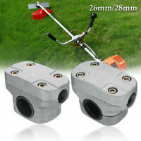 26/28mm Handle Bracket Clamp for Grass Trimmer Brush Cutter Lawn Mower Part