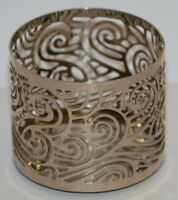 Bath & Body Works Swirly Candle Sleeve Holder for 4 oz Medium Candle