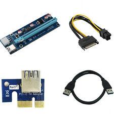 PCI-E Express 1x to 16x Extensor Elevador Tarjeta Adaptador