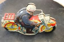 Tin Motorcycle toy ATC,made in Japan 1960's,vintage,friction toy