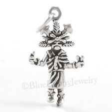3D BUTTERFLY KACHINA Native American Indian doll Charm Pendant STERLING SILVER