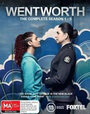 Wentworth : Season 1-5 (Blu-ray, 2017, 15-Disc Set)