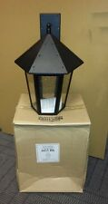 Lot of 2 Pieces - Westar Large 1-Light Outdoor Wall Lanterns - Black Finish