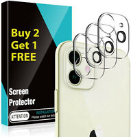 For iPhone 12 Pro Max 12 Mini Full Tempered Glass CAMERA LENS Screen Protector