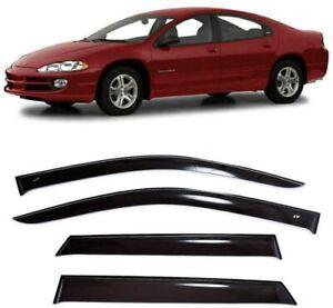 For Dodge Intrepid 1998-2004 Window Visors Side Sun Rain Guard Vent Deflectors