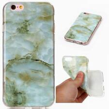 Luxury Marble Texture Pattern Soft Silicone Case Cover For iPhone 8 X 6s 7 Plus