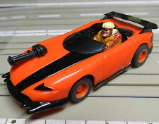 für H0 Slotcar Racing Modellbahn --  Sabretooth mit  Tyco Chassis
