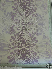Fitzroy Amethyst Wallpaper Damask Price Per Roll Several Available