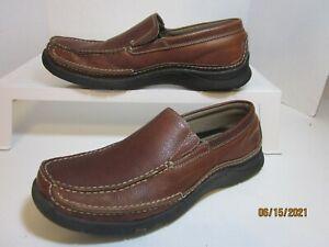 SKECHERS  Brown Leather Moccasins  Men's 12