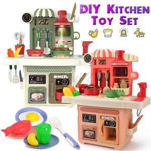 DIY Cucina Giocattolo Per Bambini con 24PZ Accessori Per Natale Regalo