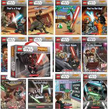 Lego Star Wars Readers Box Set Pack 1 : 10 Books & 2 Workbooks NEW