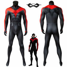 Teen Titans: The Judas Contract Nightwing Costume Cosplay Suit Dick Grayson