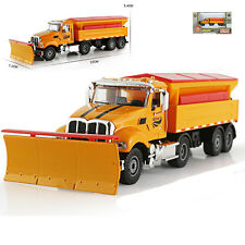 SNOW PLOUGH Cleaner Truck Snowplow Car Model Toy 1:50 Scale Diecast New