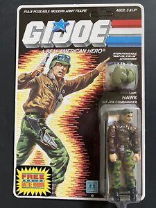 GI G I JOE MOC 1986 86 HAWK COMMANDER UNPUNCHED BATTLE RIBBON OFFER 34 BACK