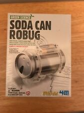 Green Science Soda Can Robug Experiment Kit for Home kid School Lab Project
