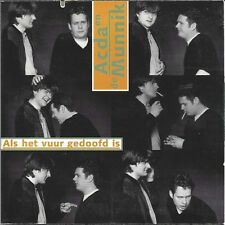 Acda en de Munnik ‎– Als Het Vuur Gedoofd Is   cd single in cardboard