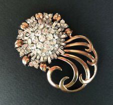 PENNINO 1940 Spilla Stearling Vermeil oro Numbered 50455 LXXX Brooch RARE!!!