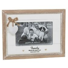 Shabby Chic Provence Sentiment 4 X 6 Photo Frame Choice of 5 Friends Love Mum Family