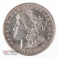 1896 Morgan One Dollar Silver Silber Münze USA Amerika Coin Liberty