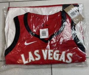 WNBA Authentic Nike Las Vegas Aces A'Ja Wilson 2021 Jersey Size 42 M  $250
