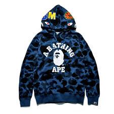 ea27a45de902 A Bathing Ape Shark Head Camo Pullover Hoodie Sweatshirt Coat Mens Jacket