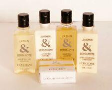 New L'OCCITANE 5 pc Jasmin & Bergamote Fragrance, Bath & Body Travel Set