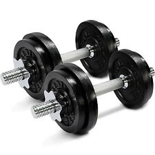 Yes4All Adjustable Dumbbell Set Weight Fitness Gym Cap Plate 50 lbs - ²D8UJC