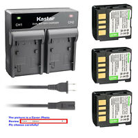Kastar Battery Rapid Charger for JVC BN-VF707 & JVC GZ-MG57EY GZ-MG57EZ GZ-MG57U
