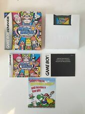 GAME BOY GAMEBOY ADVANCE GBA BOXED BOITE WARIO WARE INC WARIOWARE AGB-AZWE-USA