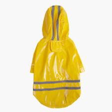 NEW Waterproof Hooded Pet Dog Raincoat Puppy Rain Coat Jacket Clothes Costume