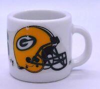 Green Bay Packers NFL Team Logo mini coffee mug