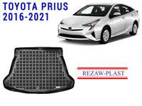 Cargo Mat For Toyota Prius 2016-2021 Hybrid Plug in 3D Rubber Trunk Mat Black 3D