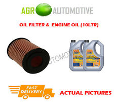 DIESEL OIL FILTER + LL 5W30 ENGINE OIL FOR MERCEDES-BENZ S350 3.0 258BHP 2013-