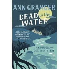Dead in the Water (Campbell and Carter Mystery)-ExLibrary