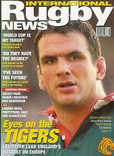 RUGBY NEWS (UK) MAGAZINE May 2002