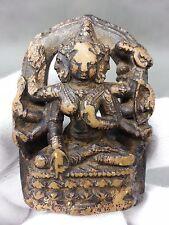 11~12C Very Rare Tibetan Yellow Silt Stone Buddhist Female Ushnishavijaya, PALA