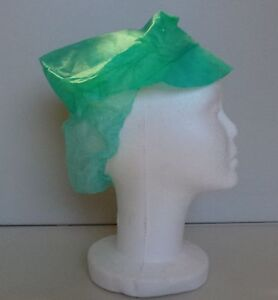 Premier Disposable Green Snood Caps in Packs of 100 for as little as 2p each