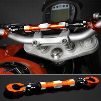 22mm Motorcycle Adjustable Handlebar Cross Bar Steering Strength Lever Bar