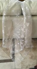 VINTAGE SHORT LADIES LACE BRIDAL VEIL