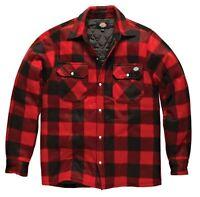 Dickies Portland Workwear Padded Lumberjack Work Casual Shirt Jacket S-XXXL