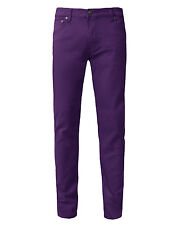 NEPEOPLE Mens Premium Solid Color Pants Basic Skinny Fit Jeans 23 Colors NEMP06