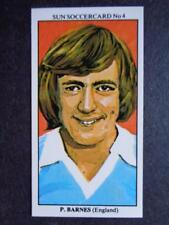 LE SOLEIL soccercards 1978-79 - Peter Barnes - ANGLETERRE #4
