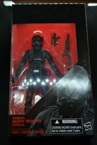 """Star Wars Hasbro The Black Series #25 Imperial Death Trooper 6"""" Action Figure"""