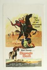 Authentic Lobby Card Dog Movie Poster Walt Disney Savage Sam Texas Plott Hound