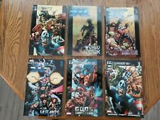Marvel Ultimates: X-men 3, 4, and 8.  The Ultimates 2, books 1 and 2.  Annuals