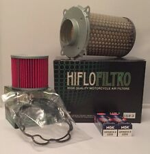 Suzuki GS500 (1988 to 2010) Service Kit (Air / Oil Filter & Iridium Spark Plugs)
